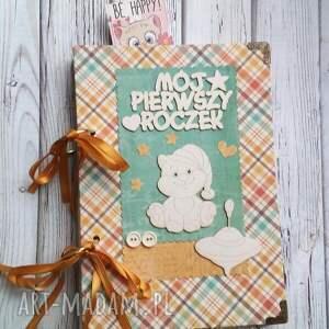 Prezent notes/pamiętnik/ pierwszy rok maluszka, notes, dziecko, mama, zeszyt