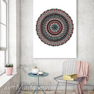 Mandala A3, mandala, plakat, grafika, wydruk, rysunek