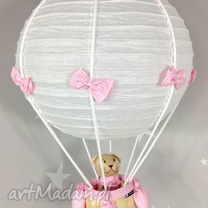 handmade pokoik dziecka lampa lamado latający miś polski handmade