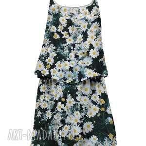 dwuczęściowa sukienka dla dzieci z kwiatem, summer, lato, mrgugu, sukienka, dress