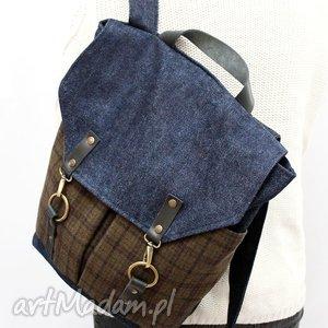 Plecak 1, plecak, kratka, flisanna
