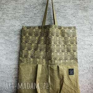 ręczne wykonanie torebki torba metamorfoza hmasa
