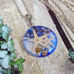 0578 mela wisiorek z żywicy serii rizon morze wisiorki art