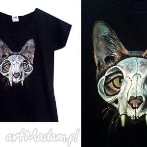 Savannah Skull, tshirt, koszulka, handpainted, ręcznie, malowana