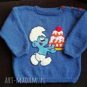 sweterek łasuch, rękodzieło, sweterek, włóczka