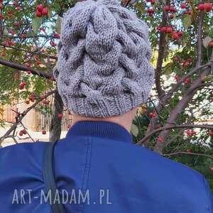 handmade czapki czapka kłosy jęczmienia