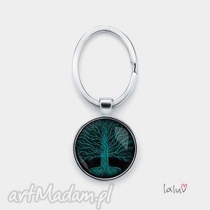 Brelok do kluczy KONARY, natura, życie, talizman, symbol, korzenie, drzewo