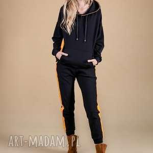 dres damski czarny -elegant sport, spodnie, sukienka, bluza, kurtka