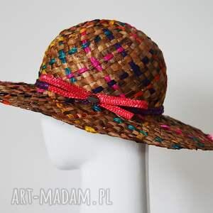 rajski kapelusz - letni słoma