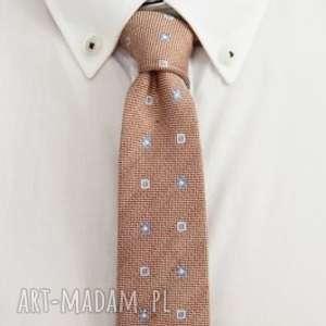 Krawat slim #24 krawaty the bow ties krawat, jedwab, męski