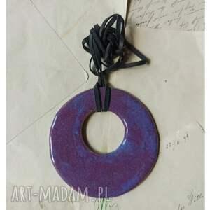 wylegarnia pomyslow wisior krokus, ceramika, wisior, koło