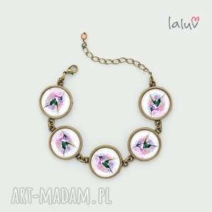 święta, bransoletka koliber, prezent, ptak, nektar, kwiat, egzotyczny, skrzydła