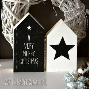 dekoracje domki drewniane, domki, domek, drewna, gwiazda, wianek, drewniany, pod