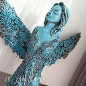 dekoracje anioł mądrości, figura anioła, stróż, talizman, dekoracja salonu