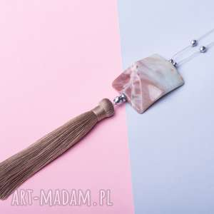 hand-made naszyjniki whw boho jasper #3