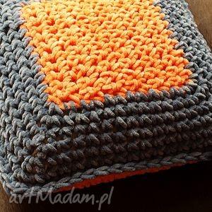 ręcznie zrobione poduszki poducha dwustronna megamięciutka