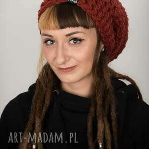czapki czapka dreadlove mono 26 - rdzawa, na dready, dredy, prezent, rasta