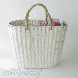 pudełka biały koszyk torba, kosz dom