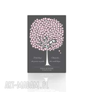 ręcznie wykonane księgi gości ślubna księga gości weselnych, obraz na płótnie
