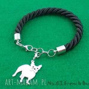 frrodesign bransoletka buldog francuski pies nr 63, bransoletka, pies, rasy psów