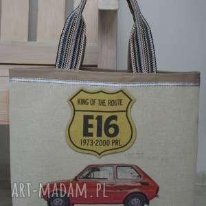 torba, torebka fiat 126, fiat, maluch, pod choinkę prezent