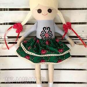 szmaciana lalka, szmacianka, folklor, parzenica, szyta, lalka