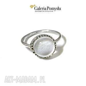 święta, kwarc rutylowy, pierścionek, srebro, 925, kwarc, rutylowy