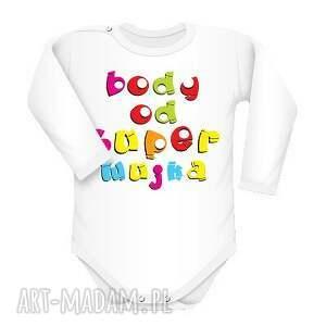 ubranka body od super wujka, body, napisy, śmieszne, wujek, text dla dziecka