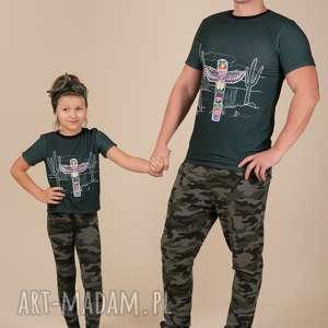 t-shirty z nadrukiem dla taty i syna/córki, nadruk, t-shirty, komplet, dlatatyisyna