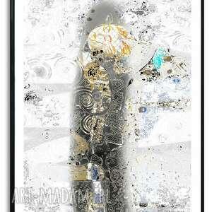 grafika w ramie cieniu miłości 60x80, romantyczne, miłosne, nowoczesne