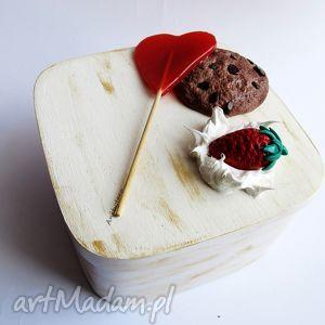 handmade pudełka pudełko - słodkości
