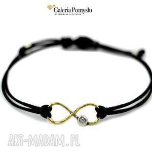 Bransoletka srebrna, bransoletka, nieskończoność, minimalizm, srebro, 925