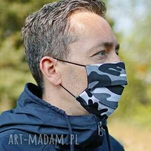 maseczka bawełniana męska wielokrotnego użytku, ochronna, maska
