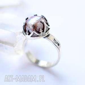 prezent na święta, perła w koronie, perła, srebro, piękny, królewski, unikat