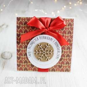 po-godzinach kartka świąteczna na boże narodzenie - prezent