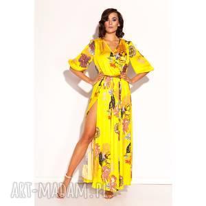sukienka margareta, kwiaty