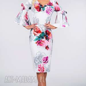 handmade sukienki sukienka ina midi delicja