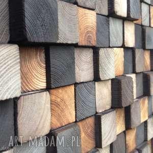 mozaika dla pana pawła, mozaika, obraz, płaskorzeźba, drewno