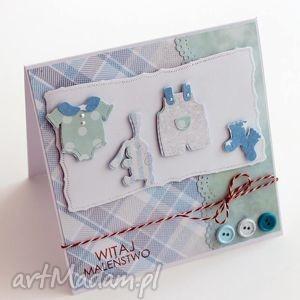 Kartka w pudełku, kartka, narodziny, chrzest