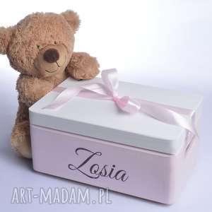 ręcznie robione dla dziecka kuferek wspomnień pudełko skarby