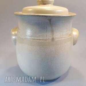 ceramika garnek hermetyczny do kiszenia warzyw, kiszonki, kiszone ogórki