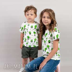 koszulka dziecięca kaktus 80/86, koszulka, kaktus, nadruk, dlachłopca