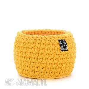 Prezent Koszyk, żółty, M, kosz, koszyk, koszyczek, rasta, ozdoba, prezent
