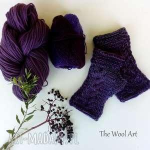 Wełniane rrękawiczki rękawiczki the wool art rękawiczki, mitenki