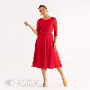 pod choinkę prezent, sukienka 18/ss/2021, szyfonowa, wesele, letnia, zwiewna