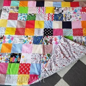 pokoik dziecka mata/ kołdra patchwork, mata, dywan, kołdra, prezent