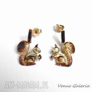 Wiewiórki - kolczyki srebrne wisiorki venus galeria srebro