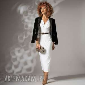 star white - elegancka sukienka, ślubna, elegancka, klasyczna sukienki