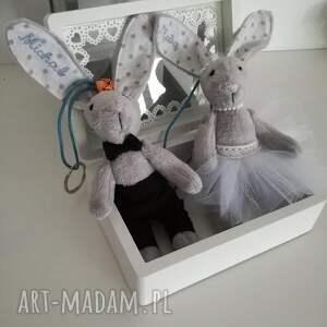 zamiast kwiatów podaruj breloki ślunbne, ślub, prezent, dodatek, tilda, królik