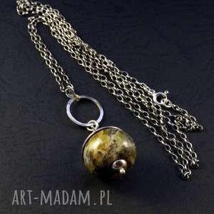 hand made wisiorki opal codzienny